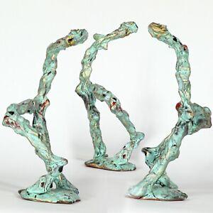 "Art sculpture  ""dancer"" 21cm unique piece Andreas Loeschner-Gornau"