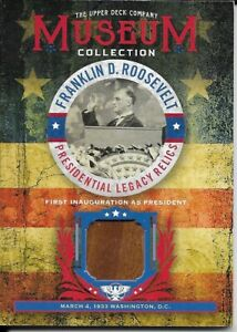 2018 Goodwin Champions - Museum Collection - FDR - First Inauguration - FDR-1