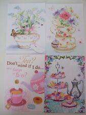 """Hunkydory 24 mix Toppers from """"Afternoon Tea"""" see pictures see description"""