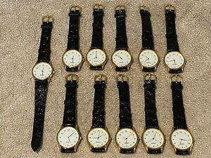Wholesale job lot of 11x mens quartz wrist watches ideal resale wristwatch watch