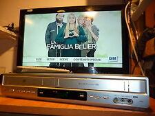 VIDEOREGISTRATORE LG 9700 VHS LETTORE DVD + TELECOMANDO MANUALE