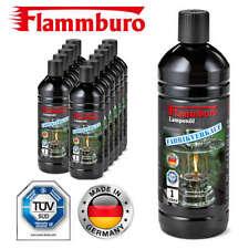 12 Flaschen mit je 1L - Lampenöl für Petrolemlampen, Öllampen Fackeln - 12 Liter