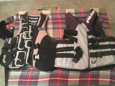 Jet Pilot Type III Pfd And Stearns V-flex Life Vest Both Adult X Large Used