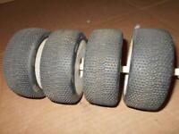 Pro-Line ElectroShot X3 Soft Off-Road 1/8 Buggy Tires Mounted PRO9059-033~