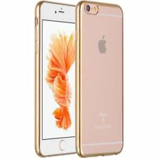iPhone SE/5/5S Electroplate Transparent Clear TPU Soft Case Cover Color Bumper
