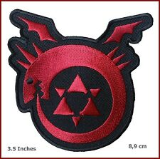 Anime Manga FMA Full Metal Alchemist Brotherhood Uroboro Logo Applique Patch