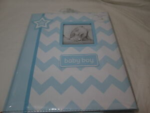 L'il Peach STAR Baby BOY Memory Record Book First Five Years - Blue/White NEW