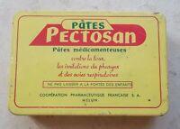 Ancienne boite Métal Pectosan Pates médicamenteuses toux pharynx Pharmacie