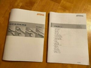 075 Stihl Chainsaw Service Workshop Repair & Illustrated Parts Diagram Manual ()