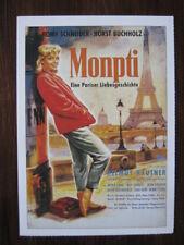 Filmplakatkarte / moviepostercard  Monpti  Romy Schneider