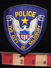 POLICE THE CITY OF SALISBURY Security / Police Type Patch 76YF