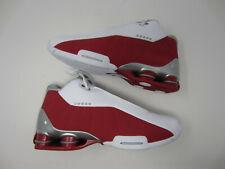 Nike Shox BB4 Vince Carter AT7843 101 White Varsity Red Men's Basketball Shoe