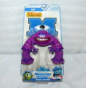 "Scare Majors Art Deluxe 5"" Action Figure Disney Monsters University Squeeze Toy"