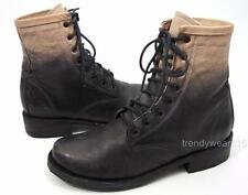 FAST SHIP! MINT SZ 7 FREEBIRD BY STEVEN CHARLIE DIP OMBRE DISTRESSED COMBAT BOOT
