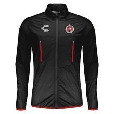 Charly Men's 19/20 Tijuana Xolos Windbreaker Full Zip Jacket (Black) 5016049000*