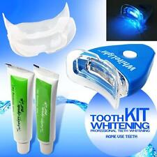 Home Kit Teeth Tooth Whitening Whitener Dental Bleaching LED White Oral Gel UP