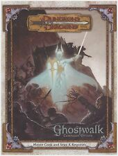 Dungeons & Dragons D&D d20 3.5 3.0 Ghostwalk Campaign Book - Hardcover - New