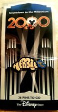 DISNEY STORE 1999 COUNTDOWN TO MILLENNIUM SERIES #37 HERBIE RIDES AGAIN  PIN