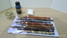 More details for arabic calligraphy set jawa, bamboo, handam (qalams,ink,lika,inkwell) - spain