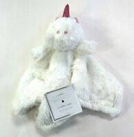 Manhattan Kids Baby Ivory Unicorn Fur Plush Cuddly Pal Security Blanket