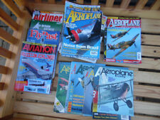 50 Assorted Aircraft Magazines - sold as job lot - see description for contents