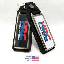 HRC Honda Racing Key Fobs Key Ring Keychain (2-Pack)