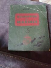 Vintage Usmc 1967 Guidebook For Marines Book