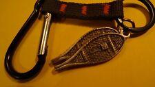 snow shoe key chain