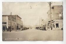 Roseville, California Street Scene RPPC