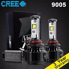 Cree LED 60W 7200LM 6000K White Kit Headlight High/Low Beam 9005 HB3 H10 9140