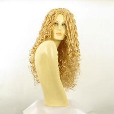 Parrucca donna lunga ricci biondo chiaro dorato EVA LG26