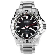 Relojes de pulsera Seiko Solar de acero inoxidable para hombre
