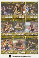 2003 AFL Teamcoach Trading Card Gold Team Set Carlton (9)
