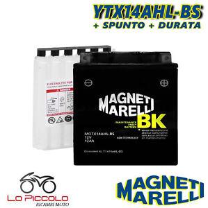 BATTERIA MAGNETI MARELLI YTX14AHL-BS SIGILLATA YAMAHA TX 650 1974