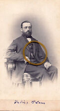 Dresden, Königreich Sachsen, Julius Adam als junger Mann, CDV, 1860er