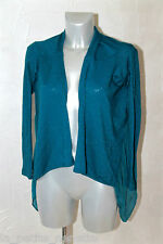 pretty bolero jacket cashmere turquoise FAIRY MARABOUTÉE size L MINT