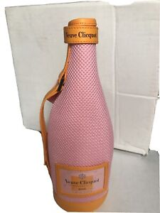 Veuve Clicquot Champagne Rose Pink Ice Jacket - Travel Bag for 750ml bottle