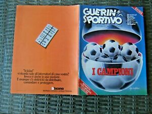 GUERIN SPORTIVO=N.33 1977=NOVANTA FOTOCOLOR GIGANTI=INGHILTERRA=GLI AZZURRI=1977