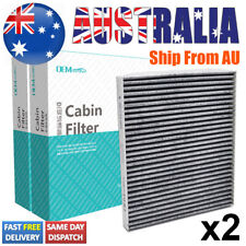 2x Car Pollen Cabin Air Filter For Kia Carens Rio JB UB Hyundai Accent i40 Verna