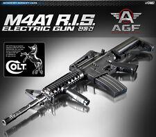 Academy M4A1 R.I.S. AUTOMATIC ELECTRIC Gun Airsoft Gun #17407
