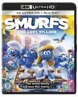 Smurfs: The Lost Village (2 Disc 4K Blu-ray & Blu-ray)  [Region Free SUPERB KIDS
