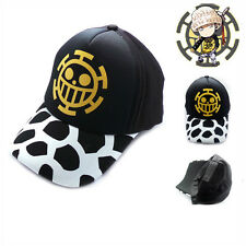 2017 New Anime One Piece Trafalgar Law Baseball Cotton Cap Sun Hat Cosplay Gifts
