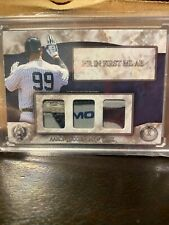 Aaron Judge 2016 Hits Memorabilia game used batting glove card #4/5 Yankees