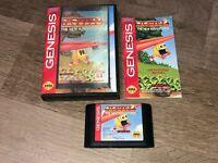 Pac-Man The New Adventures Sega Genesis Complete CIB Authentic