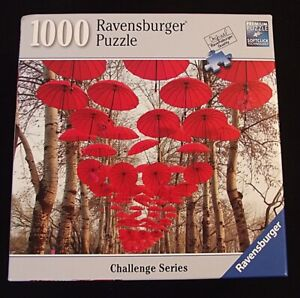 SEALED NEW Ravensburger Puzzle Umbrella Challenge 1000 Pc Every Piece Different