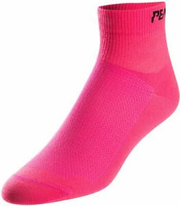 PEARL iZUMi Ladies / Women's Bicycle Cycle Attack Low Socks Pink - Pack Of 3