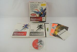 Macromedia FreeHand 7 For Macintosh Print & Internet Graphics Design Tool 1996