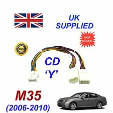 for Infiniti M35 Y cable for Dual Operation fits Mp3 Sd Usb Cd Aux Module Cd