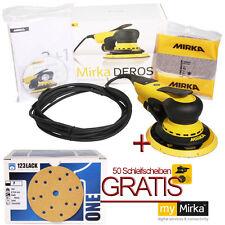 Exzenterschleifer Elektro Mirka DEROS650CV Set + 50 Schleifscheiben Gratis