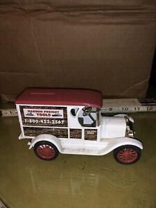 ERTL 1923 CHEVY DELIVERY VAN HARBOR FREIGHT DIE CAST BANK
